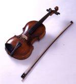 寺田寅彦旧蔵バイオリン